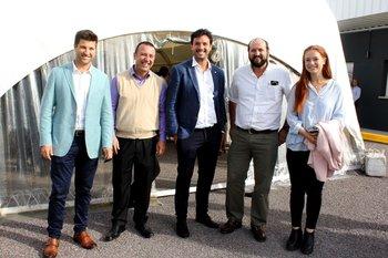 Philipp Umpierre, Rafael Pereyra, Mauricio Bergeret, Nicolas Alonso, Rossana Barone