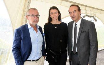 Hugues Moret, Lisa Coldefy, Federico Pigni