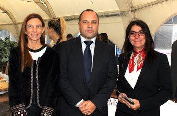Mercedes Ham, Santiago Franco, Magela Borges