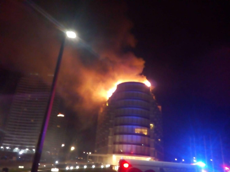 Incendio en The Grand Hotel de Punta del Este