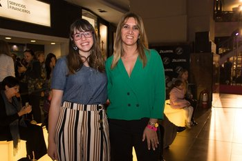 Sofia Praderia y Daniela Dreyer