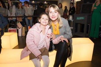 Agostina Brusich y Sabina Alcarraz