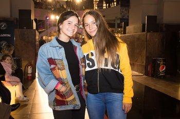 Eugenia Fernández y Camila García