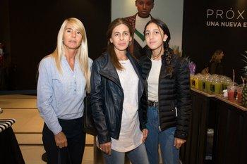 Madelón Rodríguez Veiga, Sylvia Badala y Florencia Balsamo