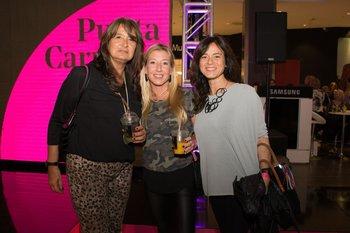 Maria Machiñena, Mercedes Guinle y Nomi Rozanski