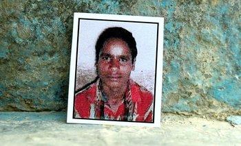 Jitendra era carpintero y el único de su familia que aportaba ingresos económicos.