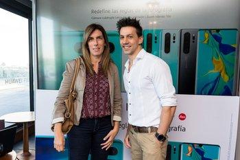 Fabiana Odera y Manuel Reyno