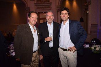 Gonzalo Masini, Alberto Panetta y Guillermo Flerquin