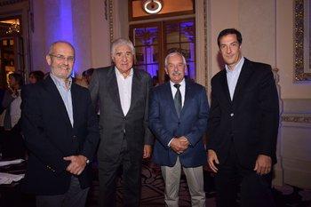 Osvaldo Barros, Blas Antonaccio, Fernàndo Caballero y Gustavo Antonaccio