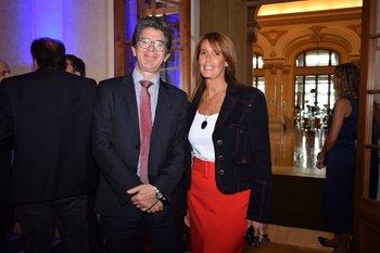Pablo Roselli y Claudia Nori