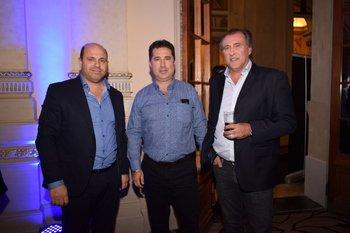 Alejandro Izaguirre, Ramon Gil y Guillermo Rocca