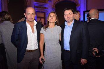 Enrique López Castillo, Ana María Silveira y Fernando Jorge