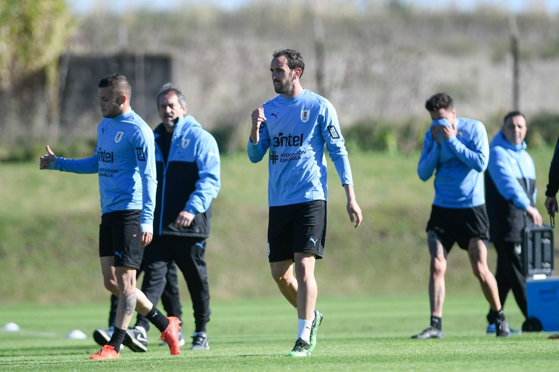 Uruguay presentó a sus 23 convocados para la Copa América