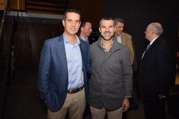 Santiago Legarra y Dario Guemberena