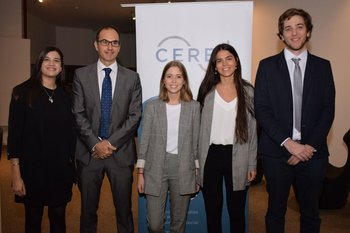 Carolina Rodríguez, Guillermo Tolosa, Lucila Bonilla, María Soares de Lima y Giuliano Simencelli
