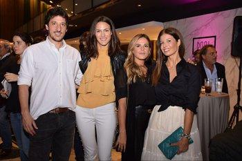 Nacho Garcia, Steffi Rauhut, Victoria Sierra y Julieta Locatelli