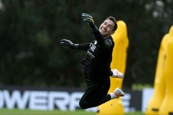 Martín Silva vuela y sonríe