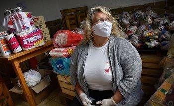 En las dos primeras semanas de entrega las trabajadoras sexuales de Otras recibieron 415 canastas
