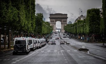 Francia, que volvió a un confinamiento nacional parcial desde el 3 de abril, ha registrado un fuerte aumento de contagios.