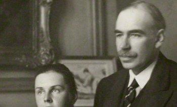 John Maynard Keynes, barón de Tilton; y la bailarina rusa Lydia Lopokova, con quien se casó en 1925