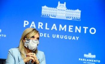 La vicepresidenta Beatríz Argimón convocó a todos los legisladores de la coalición