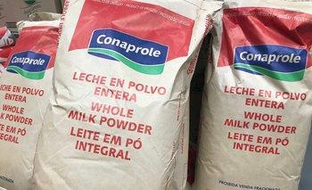 Imagen Precio de la leche en polvo tuvo caída del 7,5% y se modera después de fuerte suba