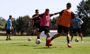 La selección uruguaya sub 20 comenzó a preparar el Sudamericano de enero el 2 de marzo, pero los entrenamientos se supendieron por la pandemia del coronavirus