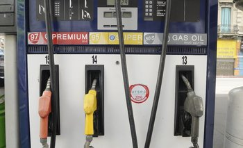 Las combustibles se mantuvieron sin ajuste en abril.