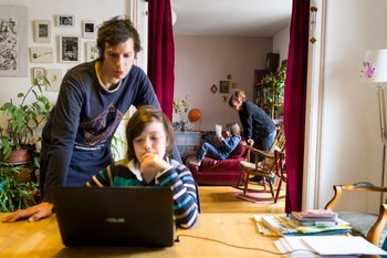 Clases virtuales por la pandemia en Francia