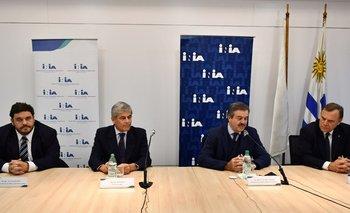 Ignacio Buffa, José Bonica, Carlos María Uriarte y Walter Baethgen.