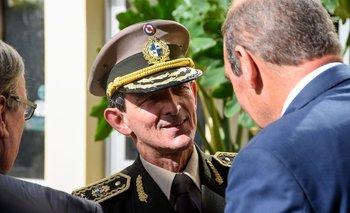 El comandante en jefe del Ejército, Gerardo Fregossi