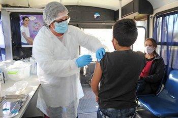 Hasta ahora se vacunaba a los mayores de 12 años