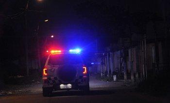 La Policía fue advertida sobre las 01:30 por un delivery que pasó por el lugar