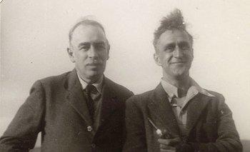 John Maynard Keynes y el periodista Kingsley Martin en la década de 1930
