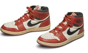 Las zapatillas usasdas por Jordan que se vendieron a US$ 560.000