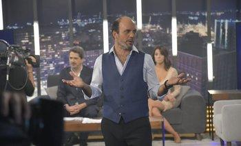 Ignacio Álvarez volvió con una nueva temporada de Santo y Seña