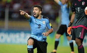 Luis Suárez en el 0-0 para Rusia 2018