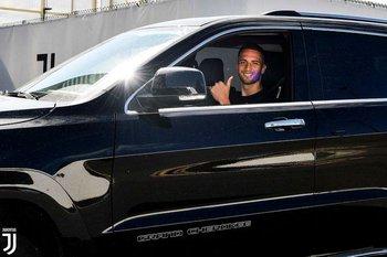 Rodrigo Bentancur en la vuelta a los entrenamientos de Juventus