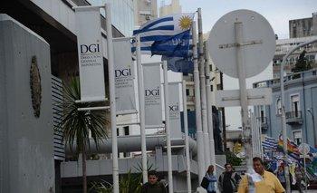 Vista de la sede central de la DGI.