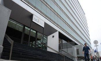 Edificio central de la DGI.