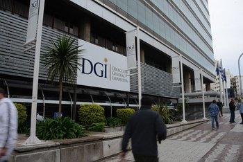 Sede central de la DGI.