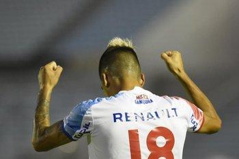 El segundo gol de Fernández en Nacional