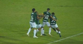 Pelea de jugadores de Guaraní