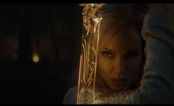 Angelina Jolie en Eternals, que se estrenará en noviembre de este año
