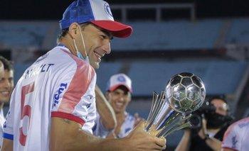 Rafa García con la Supercopa 2021