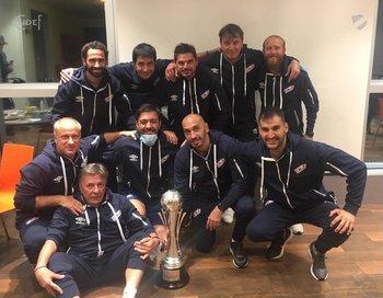 El cuerpo técnico de Nacional de la temporada 2021