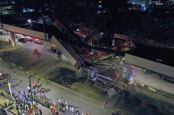 El accidente en el metro de Ciudad de México provocó más de 20 muertes