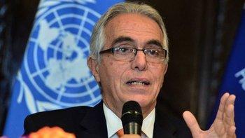 Diego García-Sayán es relator especial de las Naciones Unidas sobre la independencia de magistrados y abogados.