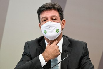 Exministro de Salud, Luiz Henrique Mandetta