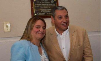 Andrea Brugman y Carlos Enciso